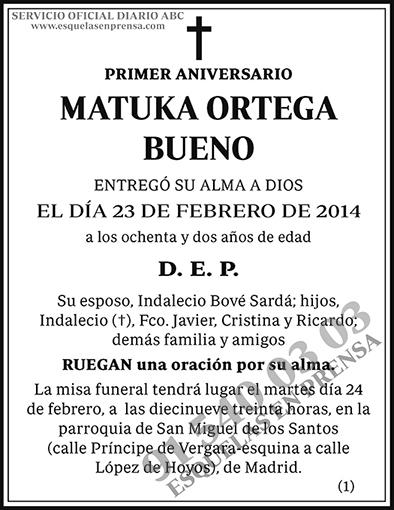 Matuka Ortega Bueno